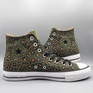 Converse All Star Pro Hi Top Field Surplus Leopard